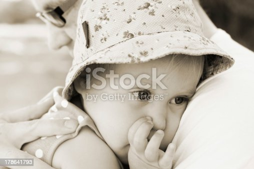 istock father holding his little daughter 178641793