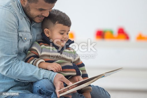 istock Father Reading His Son a Book 509416856