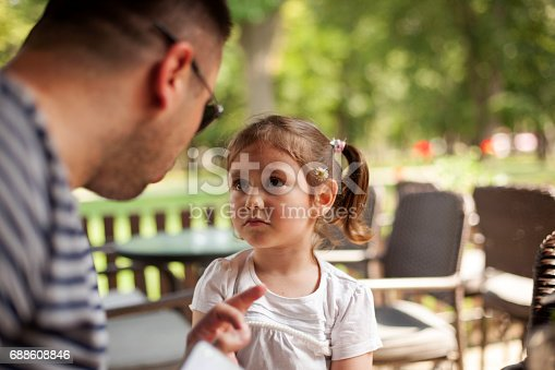 istock Father Shouting At Young Daughter 688608846