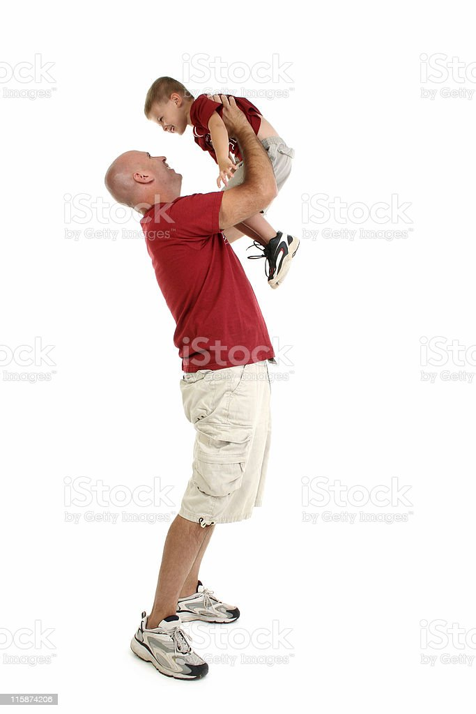 Father Son Family royalty-free stock photo
