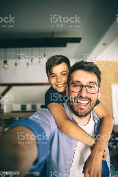 Father taking a selfie with his son picture id826260170?b=1&k=6&m=826260170&s=612x612&h=y5cng9xdht6ju ml29wfkluu4nfykwsl r4 kgbi4wm=
