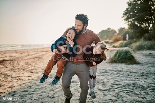 istock Father with his kids 857851774