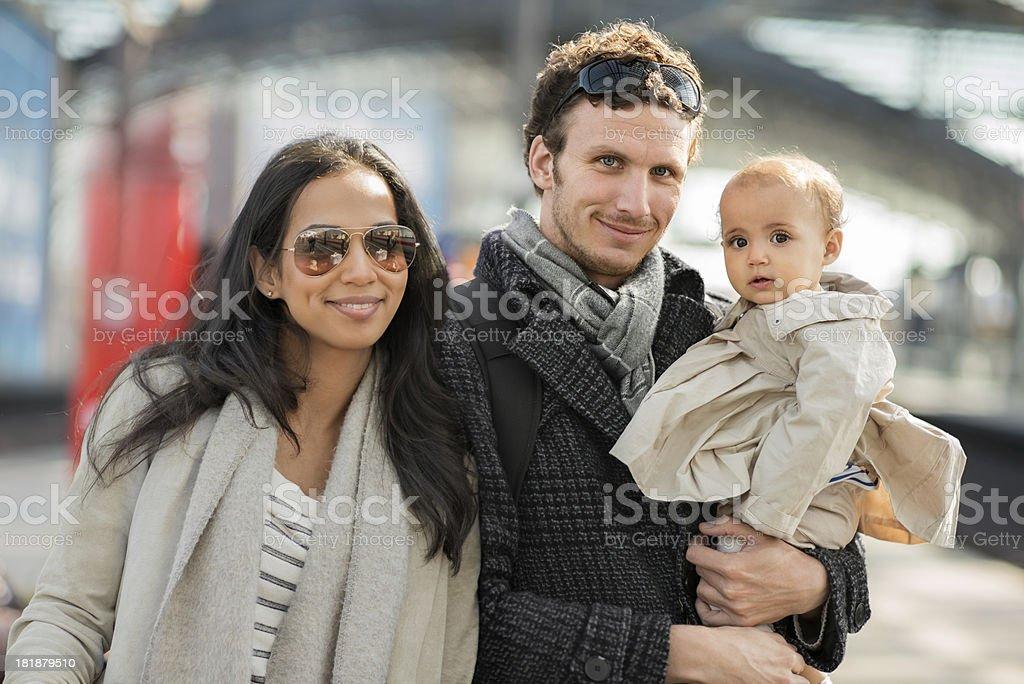 Vater, Mutter und Kind – Foto