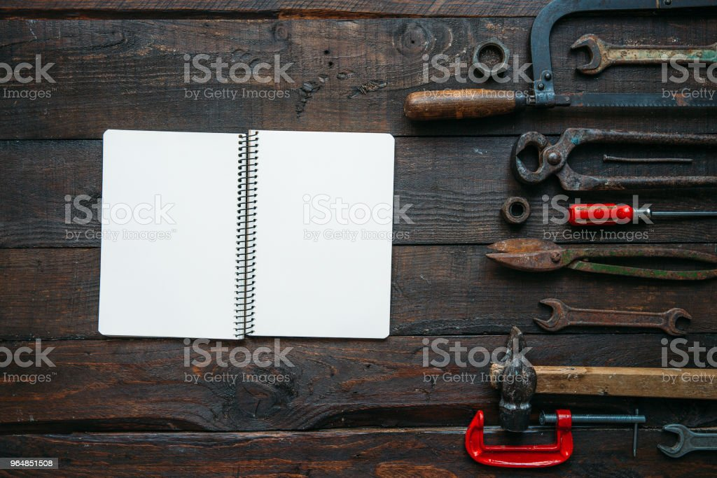 Father's day concept with empty space royalty-free stock photo