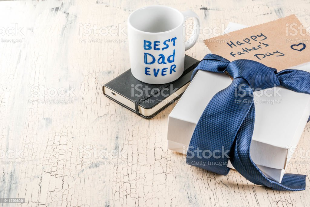 Father's Day gift concept stock photo