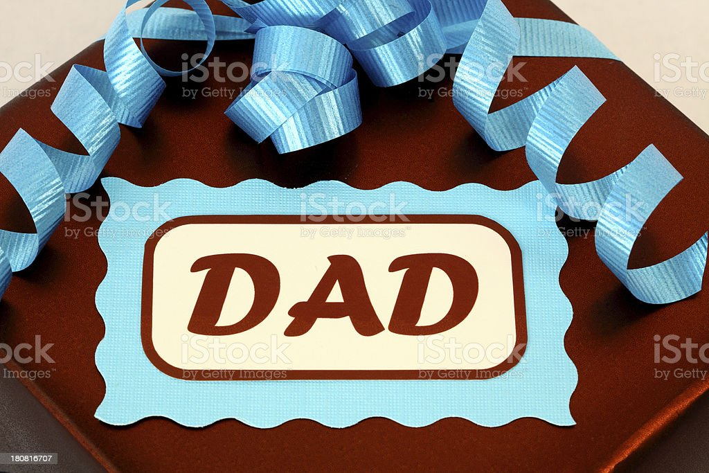 Father's Day Gift for Dad royalty-free stock photo