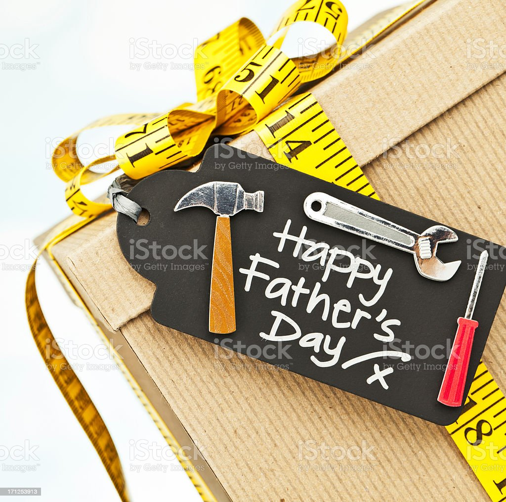 Father's Day Gift for the DIY Dad royalty-free stock photo