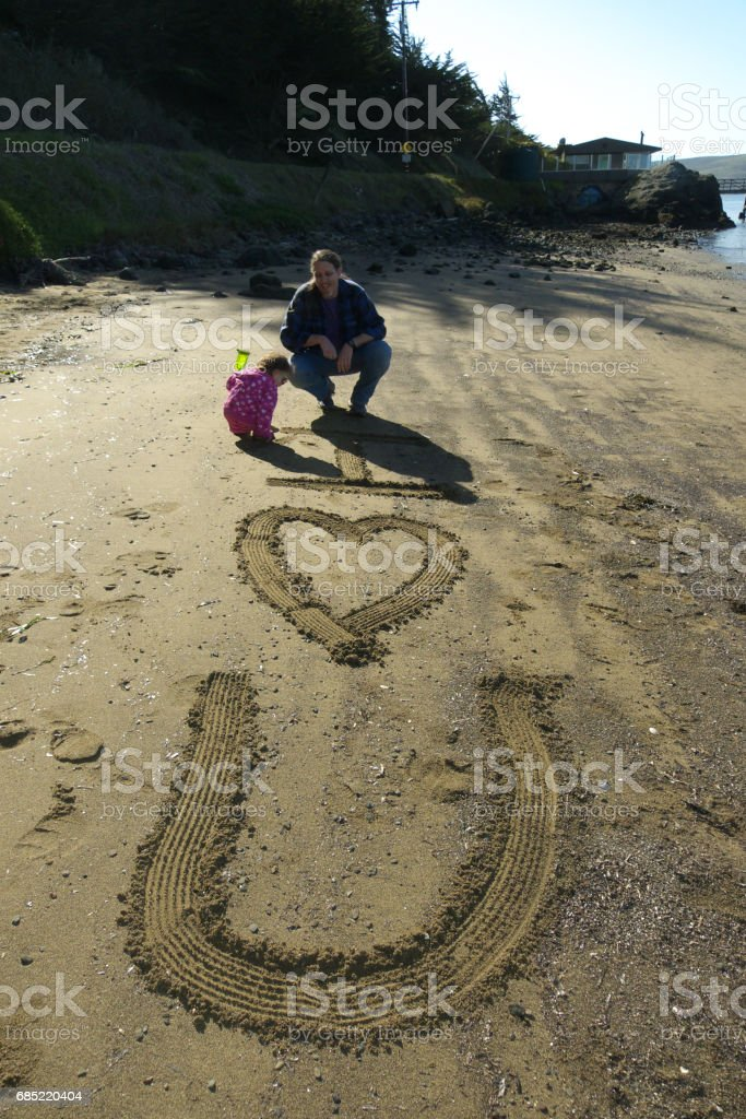 Father's 'I Love You' Note 6 foto de stock royalty-free