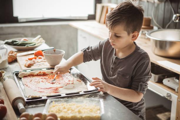 Des Vaters wenig Bäcker – Foto