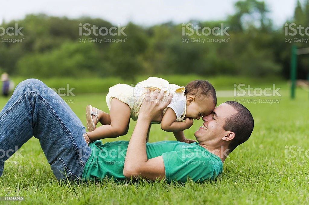 Father's Love royalty-free stock photo