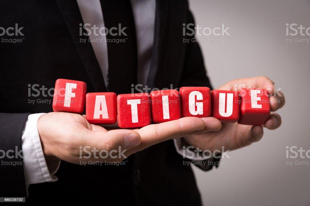 Fatigue royalty-free stock photo