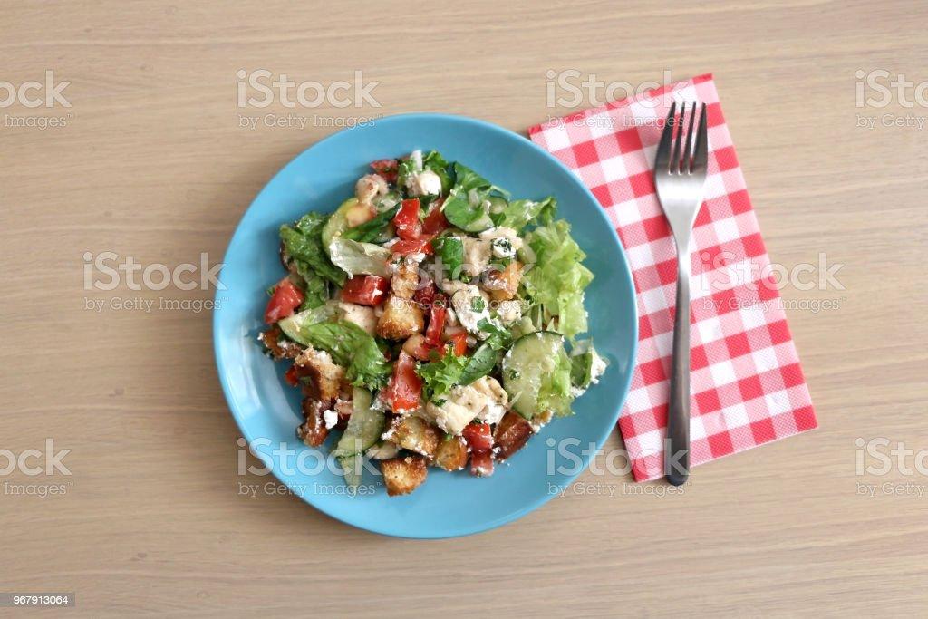Fattoush stock photo