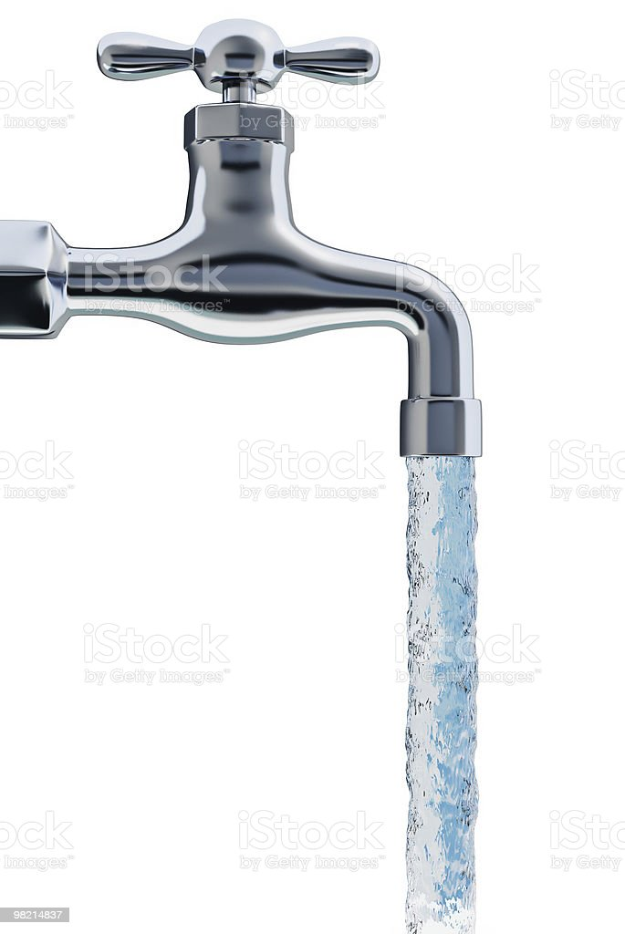Faucet tap stock photo