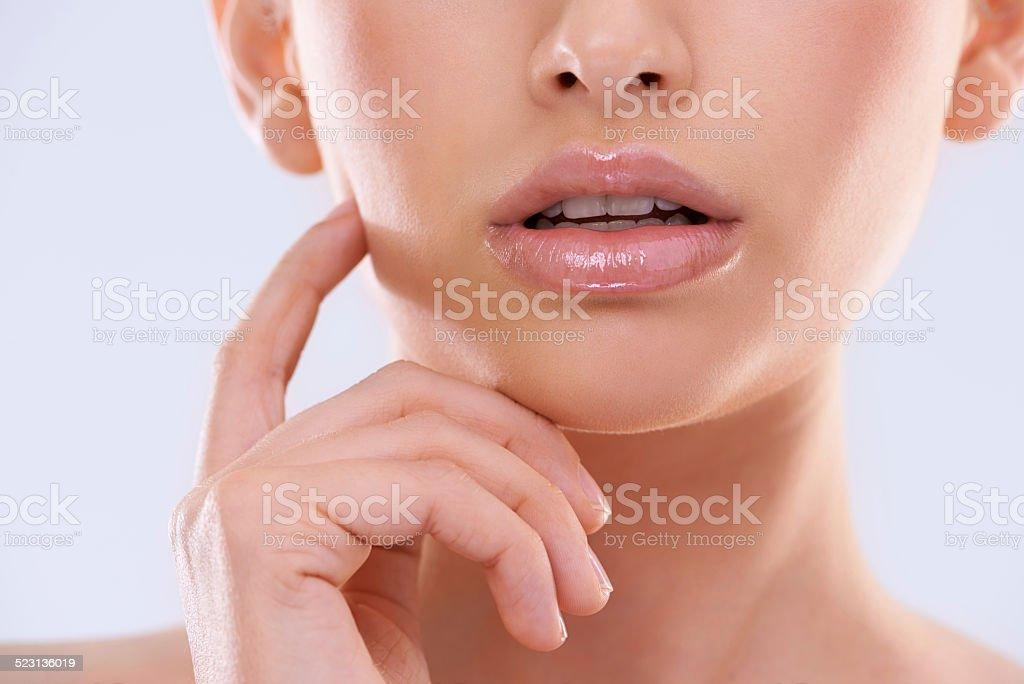 Faultless beauty stock photo