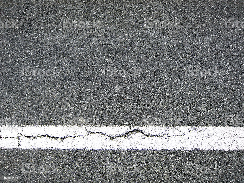 faulty road marking, background stock photo
