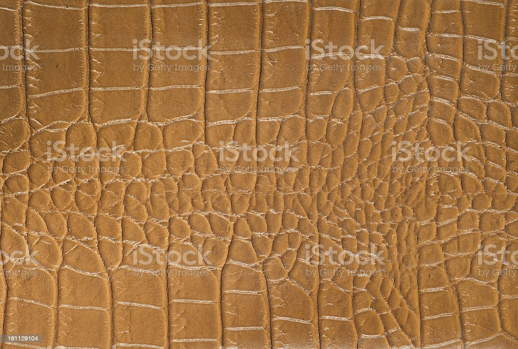 Faux Animal Hide Leather Vinyl Background royalty-free stock photo