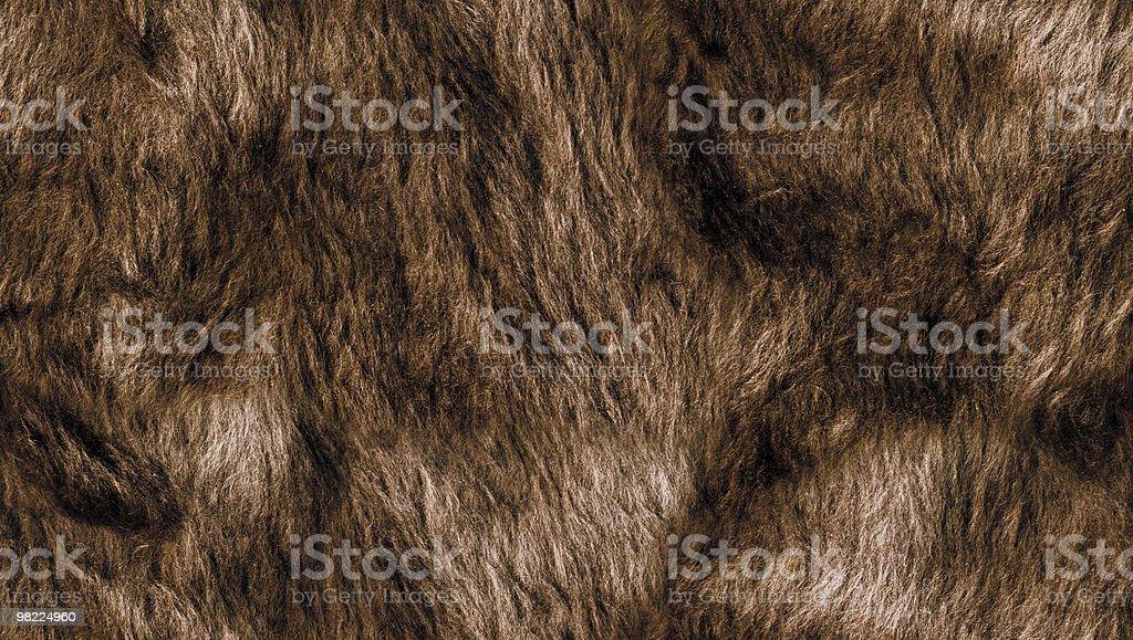 Pelliccia sintetica (Seamless Tile foto stock royalty-free