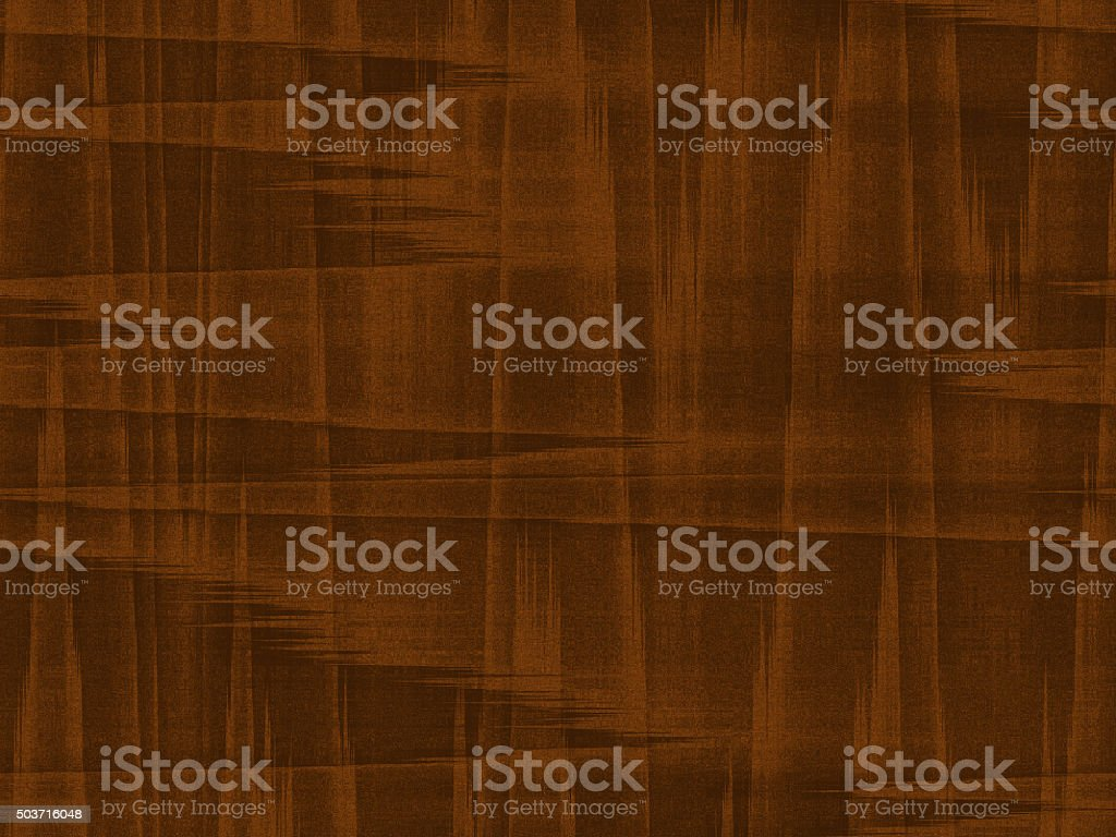 Faux Mid-Century Walnut Wood Grain Background stock photo