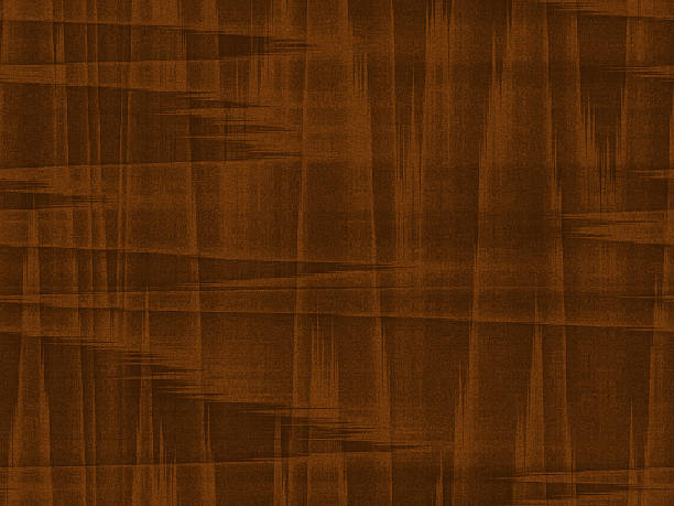faux mid-century walnut wood grain background - midcentury design stock photos and pictures