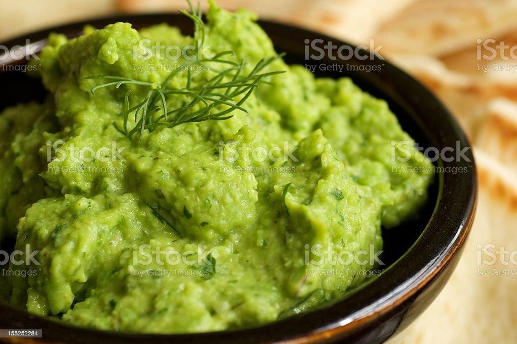 Fava Bean Dip stock photo