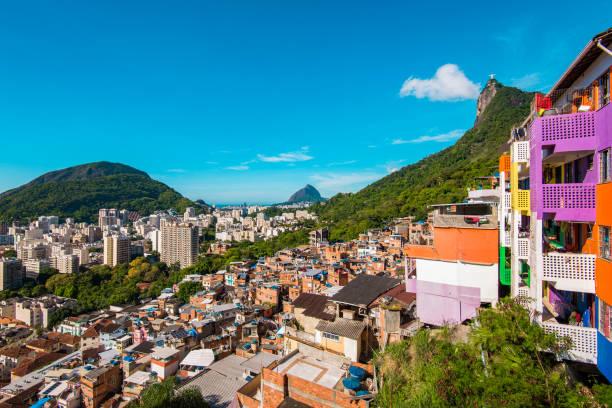 Favela in Rio de Janeiro, Brazil stock photo