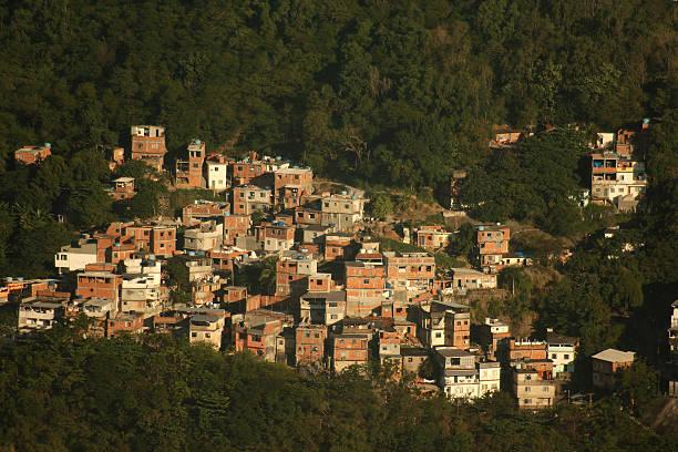 Favela in Rio de Janeiro stock photo