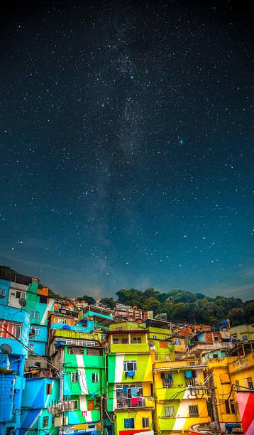 Favela night
