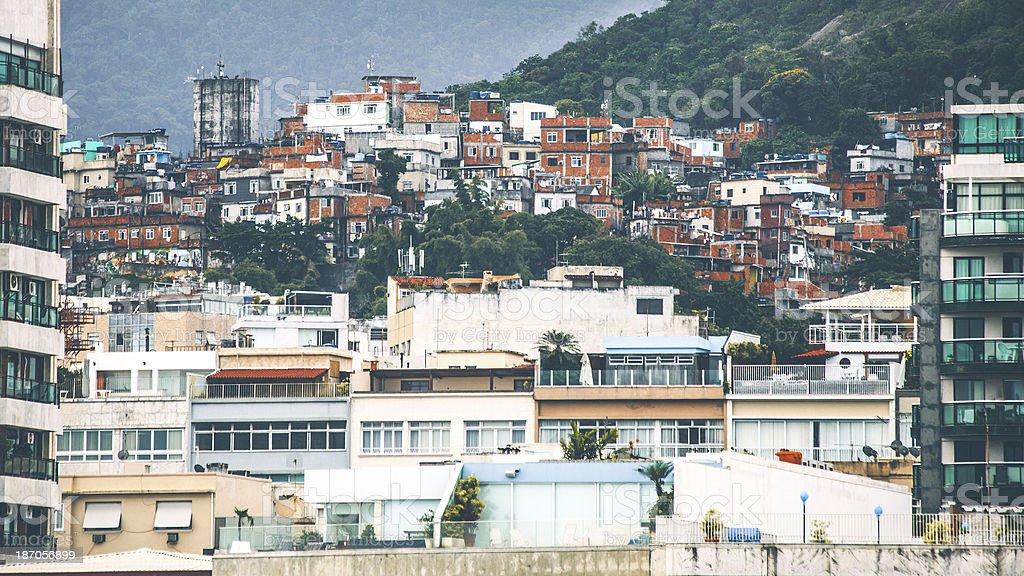 Favela. royalty-free stock photo