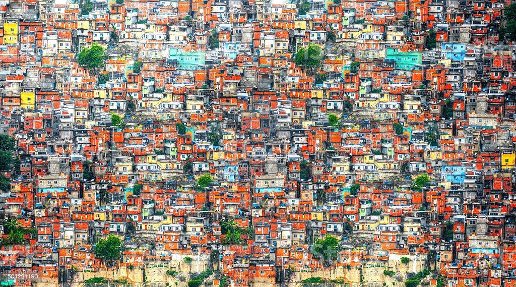 Favela stock photo