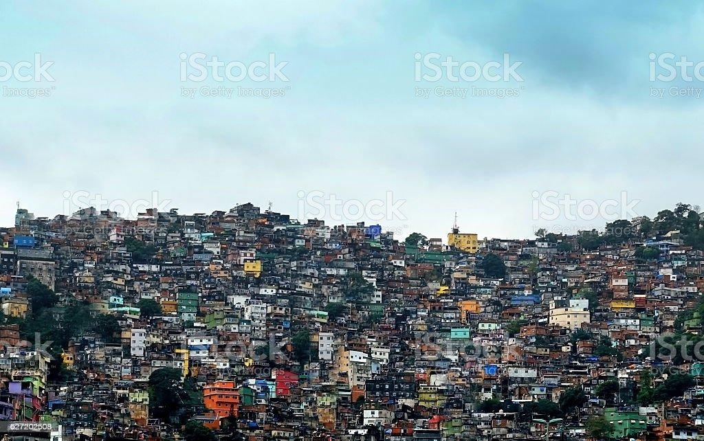 Favela Rocinha stock photo