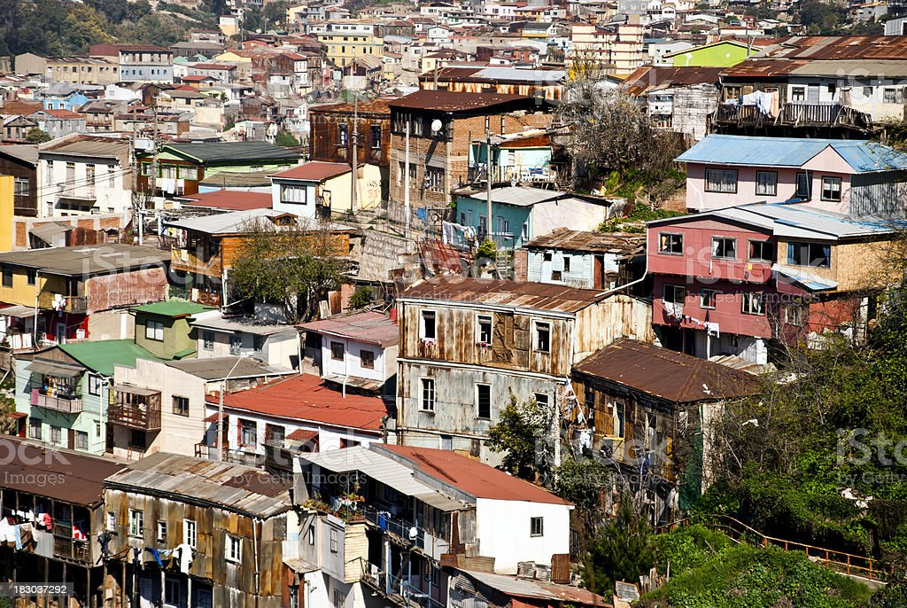 Favela - Slum stock photo