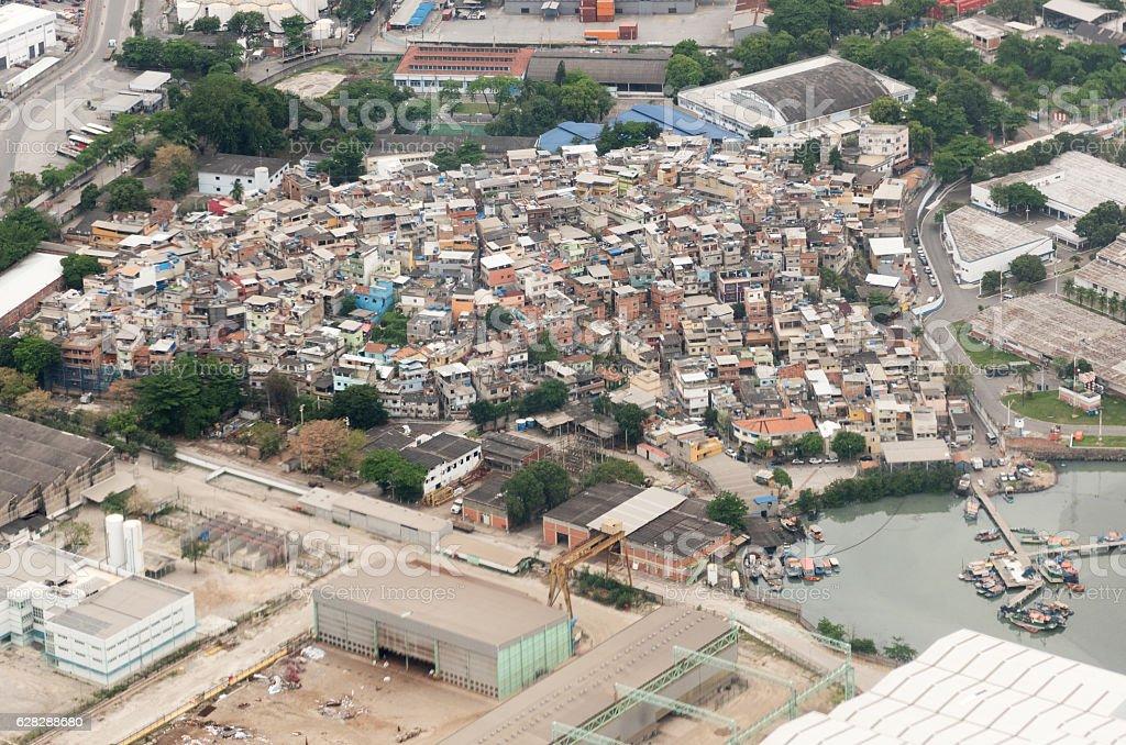 Favelas, Rio de Janeiro, Brazil stock photo