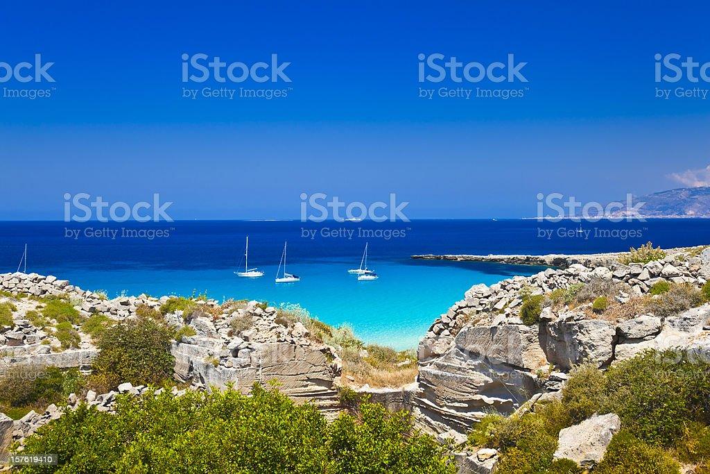 Favignana, Egadi Islands, Sicily, Italy stock photo