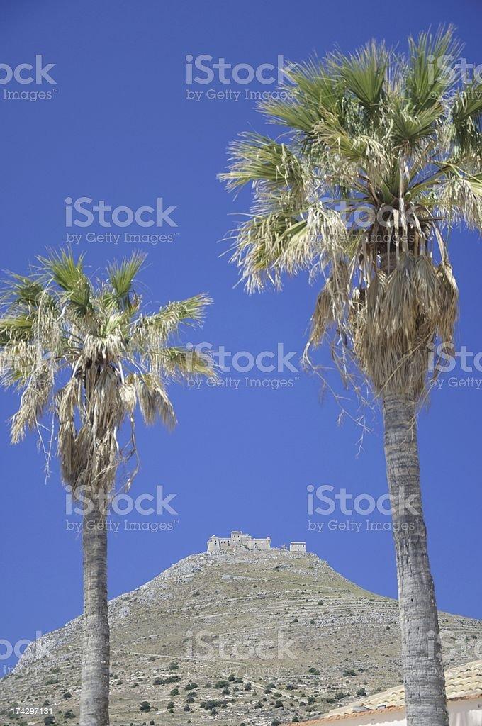 Favignana, Sicily royalty-free stock photo