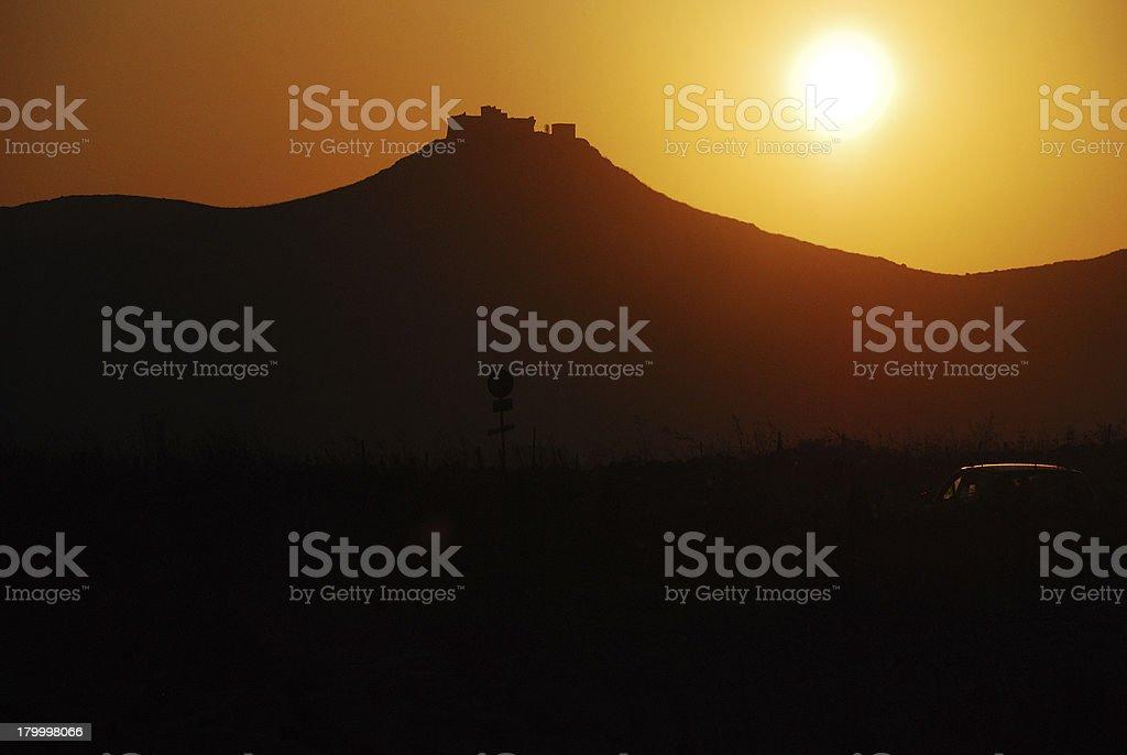 파비그나나 (Aegadian 제도) 시실리 royalty-free 스톡 사진