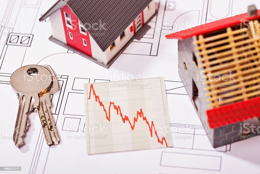 Favorable construction loans stock photo