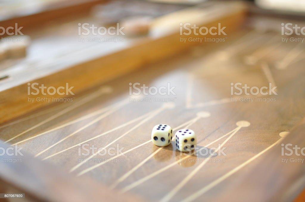 Favorite dice stock photo