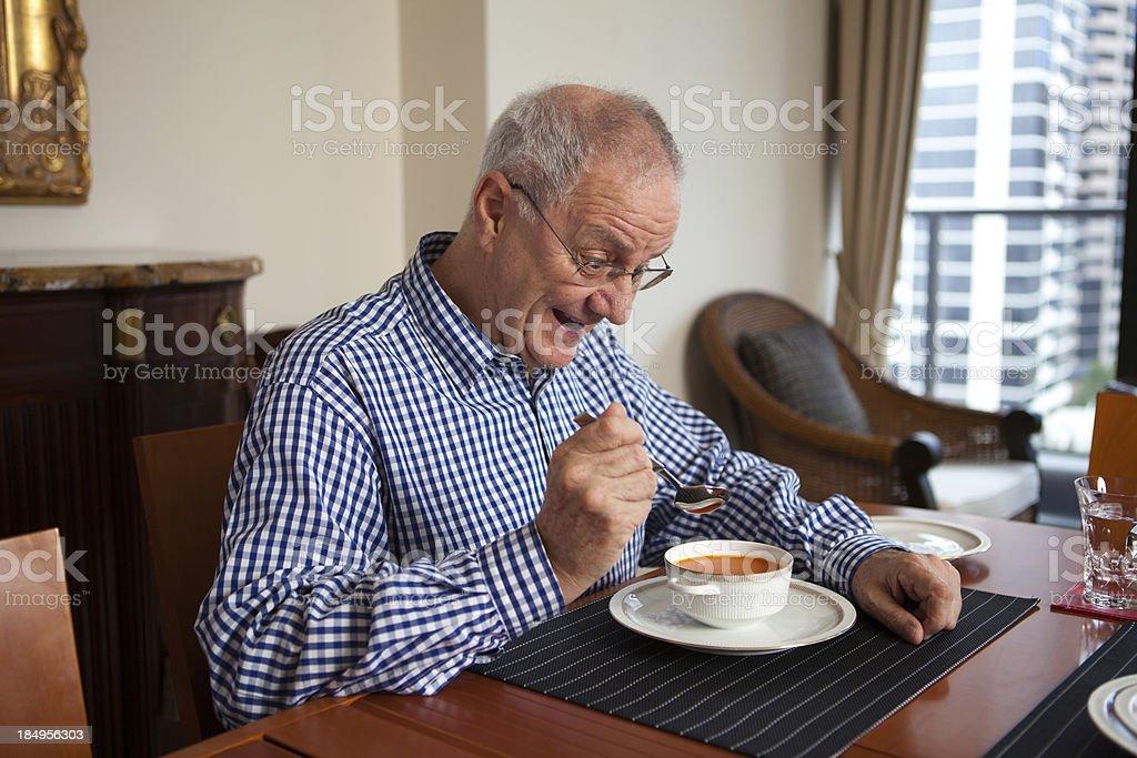 Favorite Soup royalty-free stock photo