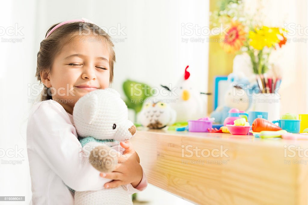 Favorite toy stock photo