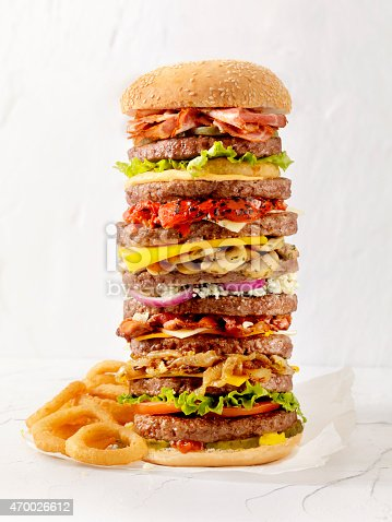 What's your Favourite Burger Toppings? Bacon, Cheese, Mushrooms,Lettuce, Tomato, Onions, Roasted Peppers, Blue Cheese, Maybe Onion Rings with Spicy Mayo? -Photographed on Hasselblad H3D-39mb Camera