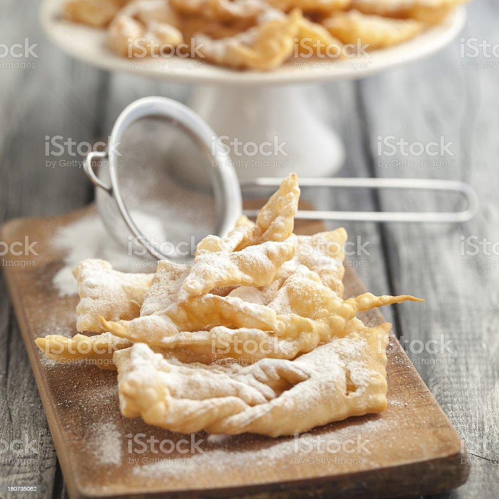 Faworki-Traditionelle polnische cookies – Foto