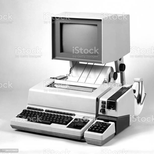 Fax machine of early 1980