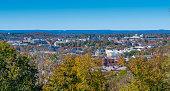 istock Fayetteville Arkansas in Autumn 1187700491