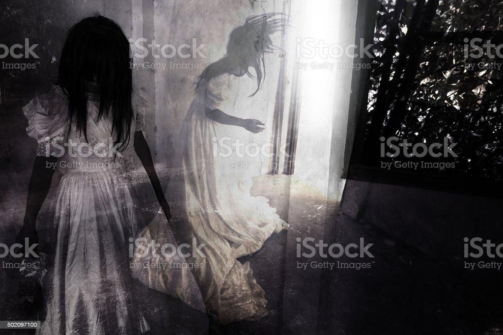 Fear Night stock photo