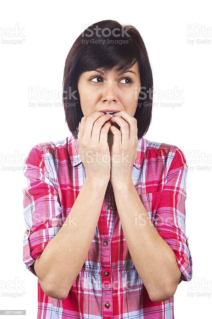 Fear stock photo