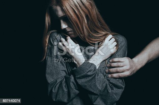 istock Fearful rape victim 837440074