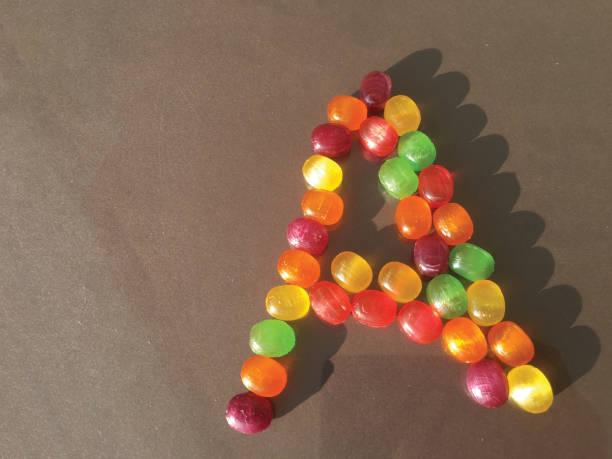 bayram şekeri izole stok fotoğrafı