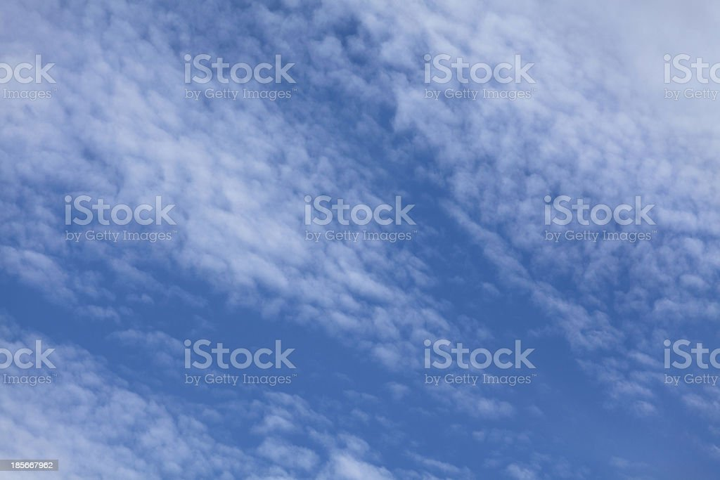 feather clouds royalty-free stock photo