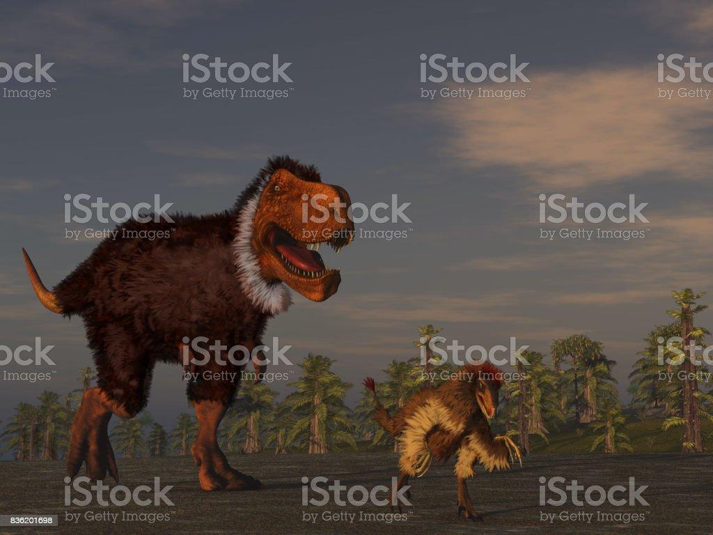 Gefiederte Dinosaurier – Foto