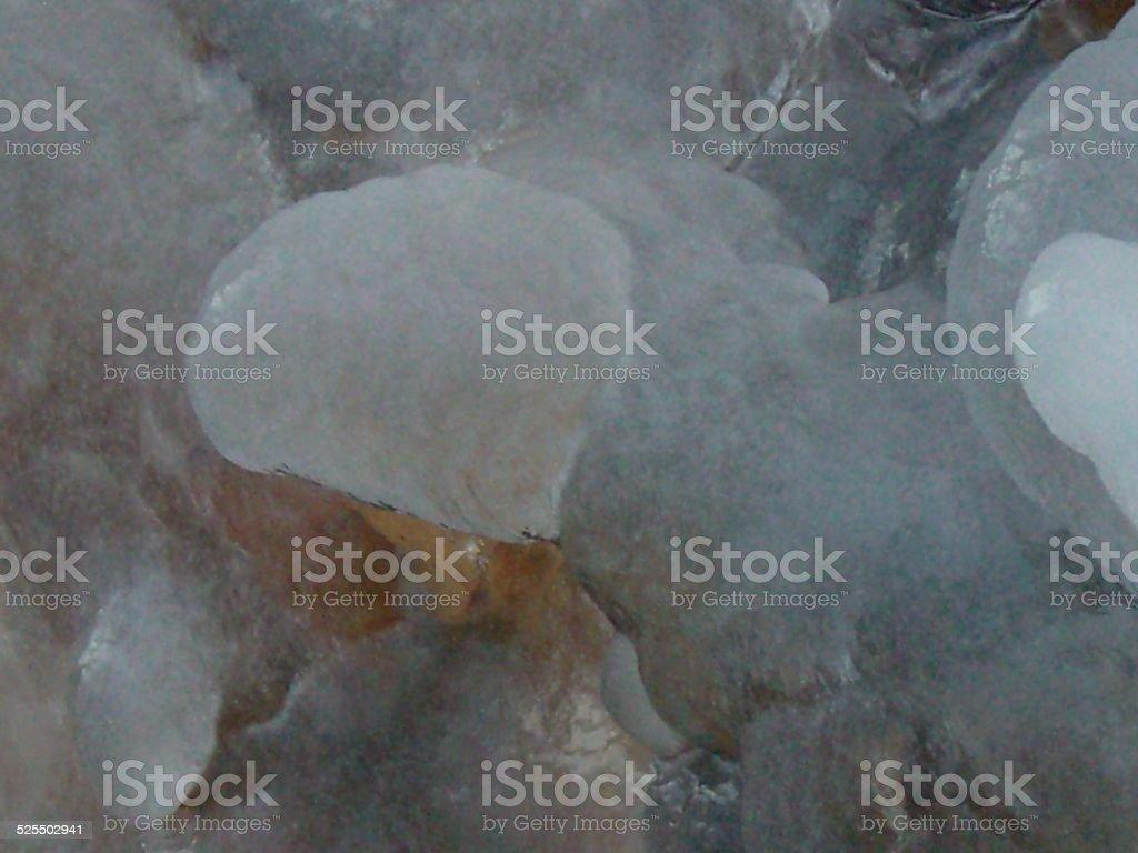 Feathery Ice stock photo